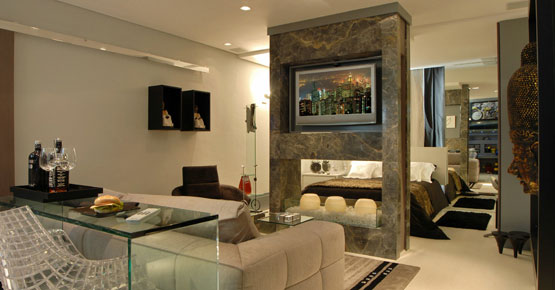decoracoes de interiores de apartamentos: Kiss Arquitetura – Arquitetura :: Design :: Interiores :: Paisagismo